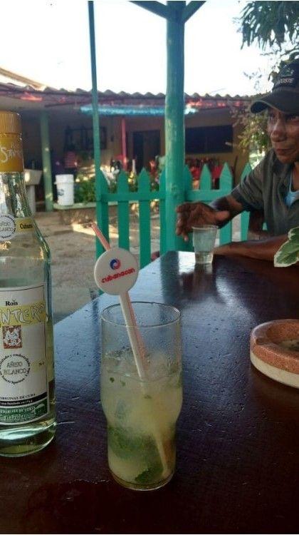 mojito ron cubano santero
