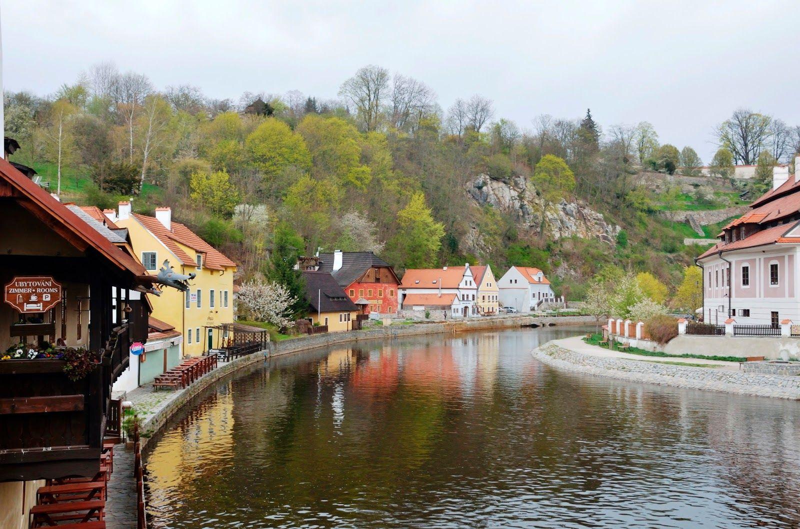 Český Krumlov río