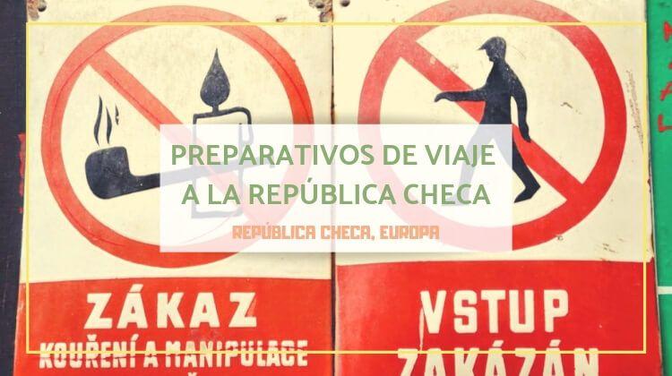 Preparativos de viaje a la República Checa