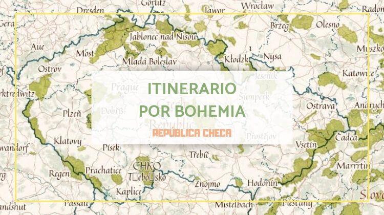 Mi itinerario por Bohemia en la República Checa