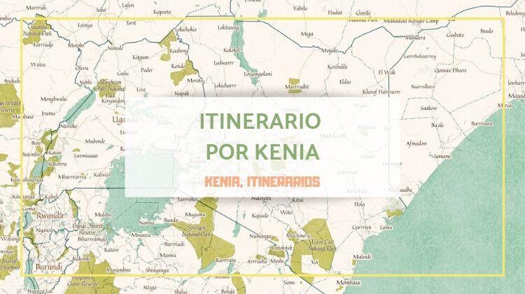 Mi itinerario por Kenia