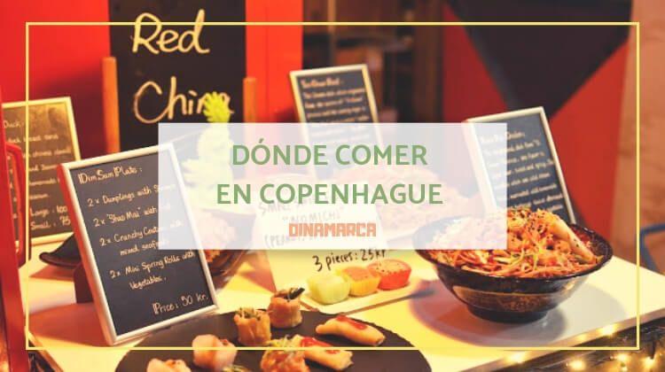 Dónde comer en Copenhague sin arruinarte demasiado