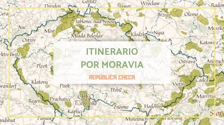 Itinerario por Moravia en la República Checa