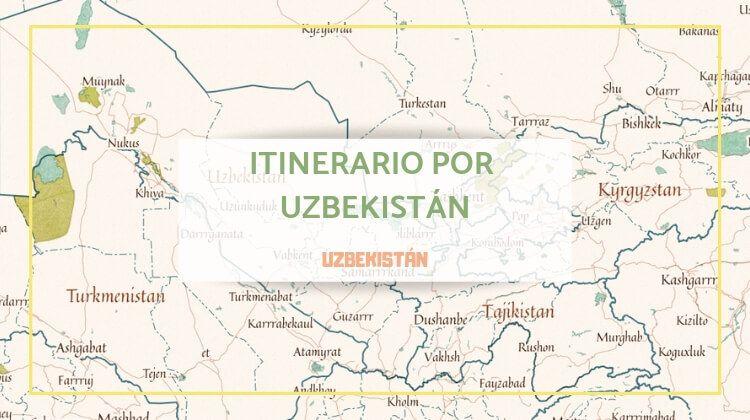 Itinerario por Uzbekistán durante 15 días